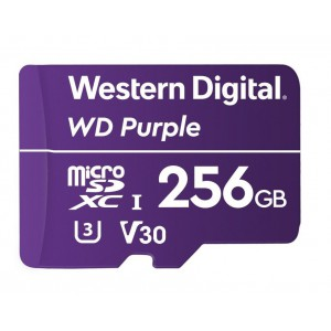 Western Digital Purple 256GB Micro SD Card