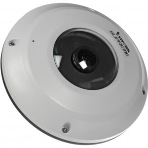 Vivotek 5MP 1.5mm Standard Fisheye Network IP Dome Camera