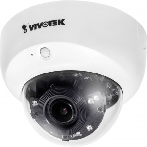 Vivotek FD8167 2MP IR Smart Stream Low-Light Indoor Fixed Dome Network Camera