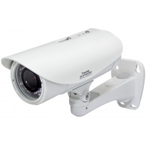 Vivotek IB8373-EH 3MP IR Day/Night WDR Pro Outdoor PoE Bullet Network Camera with Heater