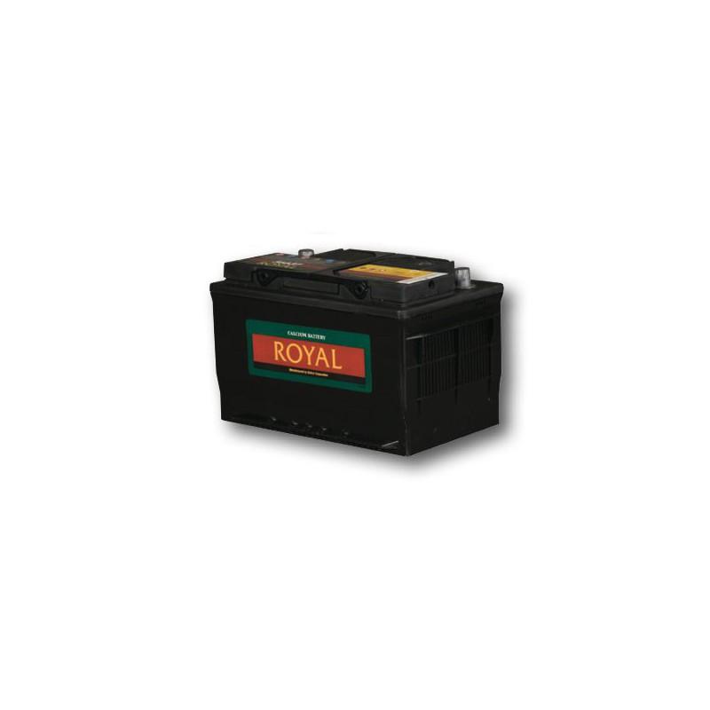 Royal 56637 Semi-Sealed Maintenance Free Battery - 12 Volt