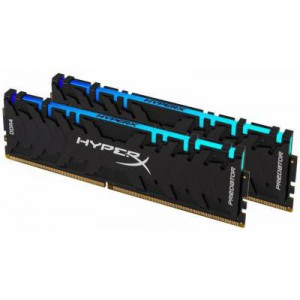 Kingston Hyper-x RGB Predator 16Gb(8Gb x 2) DDR4-3600 (pc4-28800) CL17 1.35v Desktop Memory Module