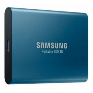 Samsung T5 Portable Alluring Blue 500GB USB 3.1 Solid State Drive