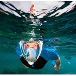 Dry Dive Snorkel Mask Full Face L/XL