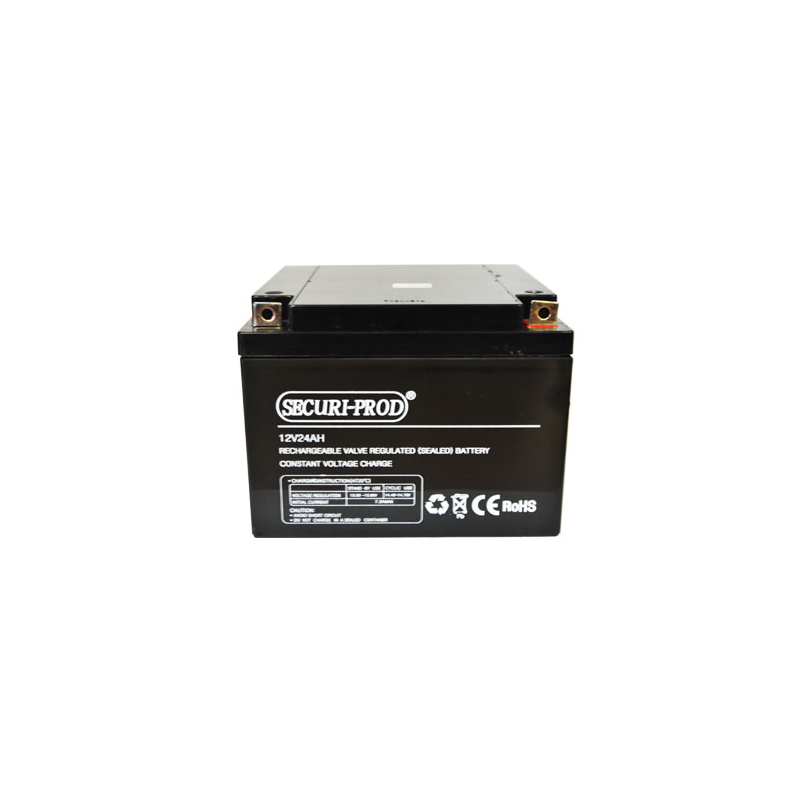 Securi-Prod Sealed Lead Acid (SLA) Battery 12V 25AH