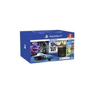 PlayStation VR Console - PSVR MegaPack 2 - VR Headset V2 + PlayStation Camera + 5 Games (Digital Download Codes)