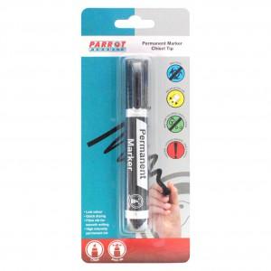 Chisel Tip Permanent Marker -Black