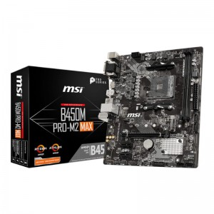 MSI AMD B450M 2XDDR4 1XM.2 Motherboard