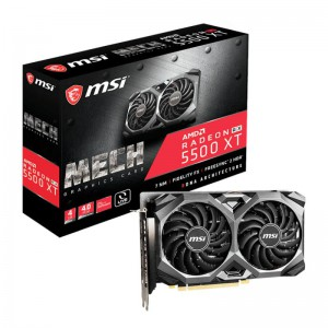 MSI Radeon RX 5500 XT 4GB GDDR6 128-Bit Graphics Card