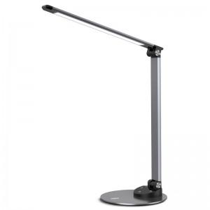 Taotronics LED 420 Lumen Desk Lamp with USB 5 V/2A Charging Port - Iron Grey