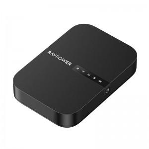 RAVPower AC750 6700mAh Wireless Travel FileHub AP Bridge Router SD Card Reader