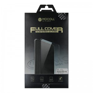 Mocoll 2.5D 9H Tempered Glass Full Cover 0.33mm Huawei P20 Lite Black