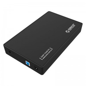 Orico 3.5 USB3.0 External HDD Enclosure - Black