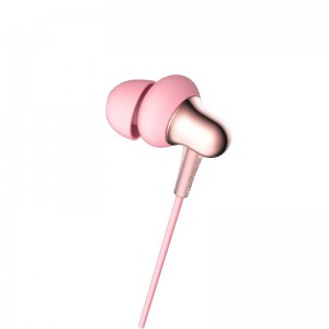 1MORE Stylish E1025 Dual-Dynamic Driver 3.5mm In-Ear Headphones - Pink