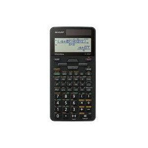Sharp EL-W506T-BGY Black Scientific Calculator
