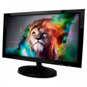 MECER 19.5'' LED MONITOR WITH VGA+HDMI PORT - BLACK