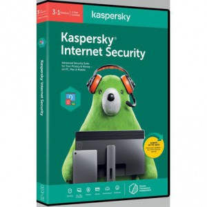 Kaspersky 2020 Internet Security 3+1 Devices 1 year DVD