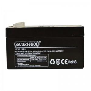 Securi-Prod Sealed Lead Acid (SLA) Battery 12V 1.3AH