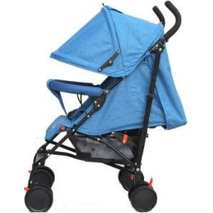 Little Bambino Umbrella Travel Stroller - Blue