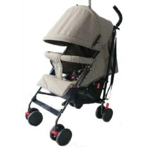 Little Bambino Umbrella Travel Stroller - Grey