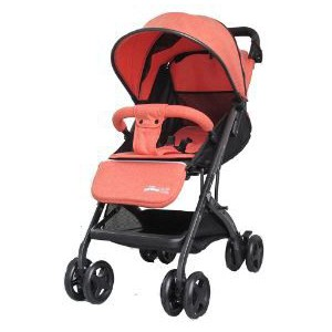 Little Bambino Snuggle Buddy Stroller - Orange