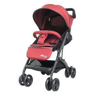 Little Bambino Snuggle Buddy Stroller - Red