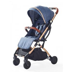 Little Bambino Travel Buggy Stroller - Dark Blue