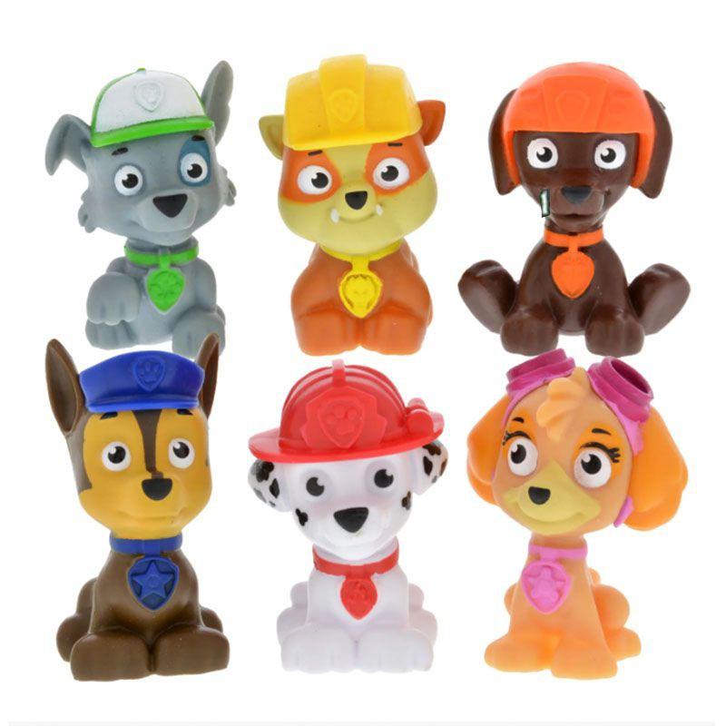 Paw Patrol Plastic Figurines