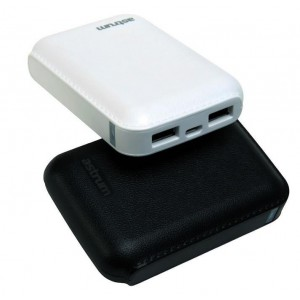 Astrum 7800mAh Powerbank - 2 x USB Ports - white