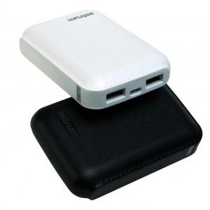 Astrum 7800mAh Powerbank - 2 x USB Ports - white