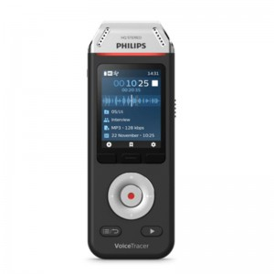 Philips DVT 2110 VoiceTracer Audio Recorder for interviews and notes