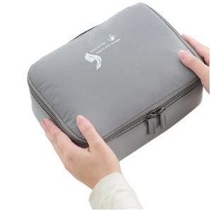 Homemark Cosmetic Bag - Grey