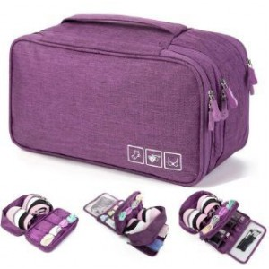 Homemark Underwear Travel Pouch - Purple