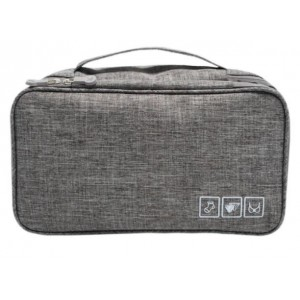 Homemark Underwear Travel Pouch - Grey