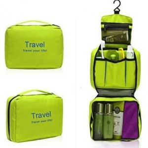 Homemark Toiletry Bag - Lime Green