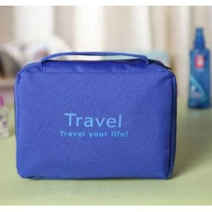 Homemark Toiletry Bag - Blue