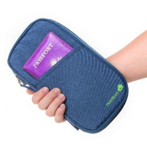 Homemark Passport Pouch - Blue