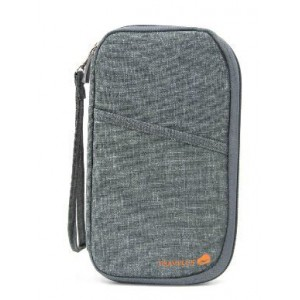 Homemark Passport Pouch - Grey