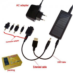 Universal Solar charger for electronics/cellphones