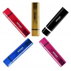 Astrum 2600mAh Power Bank - 1 x USB - Pink