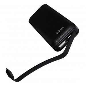 Astrum 2500mAh Powerbank Micro USB 1A - Black