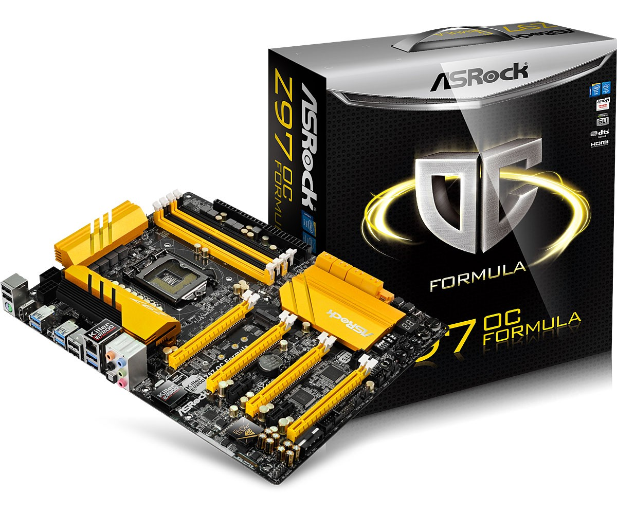 Specification for Z97 PC Mate  Motherboard  The world