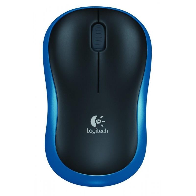 Logitech 910-002236 - Mouse M185 Blue