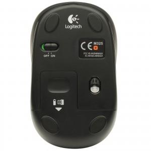 Logitech Mouse M325 Dark Silver, 910-002142