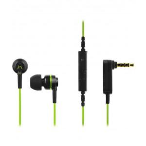 SoundMagic ES18S Black & Green Earphones With Mic