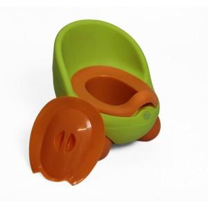 Nuovo Potty - Orange/Green