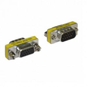 Unbranded ADA009  VGA Male to VGA Female Adaptor, New
