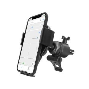 Macally Car Vent Phone Holder with Wireless Qi Charger