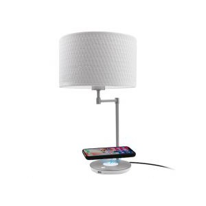 Macally LED Table Lamp with Wireless Charging and USB Port