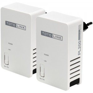 Totolink 200Mbps Powerline Adapter Kit (2x)